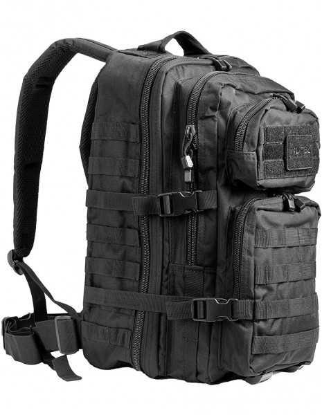 Outdoor Camping Hiking Hunting Army Backpack Assault 36l Black 14002202