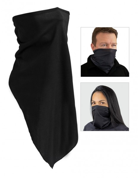 Miltec Mask Collar Shawl Face Scraf Black 12621002