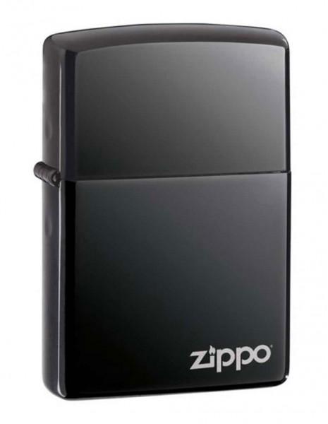 Original Zippo Lighter Black Ice Zippo Logo 150ZL