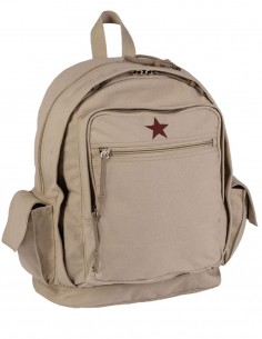 Miltec Gradski Ruksak Red Star Canvas Khaki 14005004