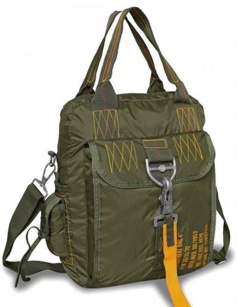 """Miltec Paratrooper Hiking outdoor Bag Deployment Bag 4"""" Olive 13837001"""
