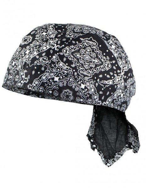 Miltec Headwrap Motorcycle Western Black 12226000