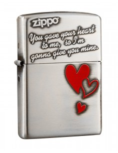 Original Zippo Upaljač You Gave Your Heart Asian Collection ZA-2-36B