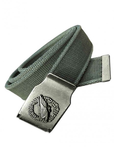 Miltec Retro Belt Paratrooper Eagle Safety Para Olive 13161001