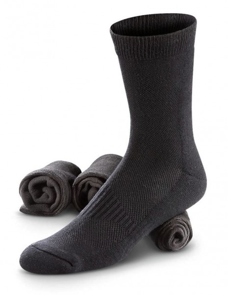 Miltec Coolmax Sportske Ljetne Planinarske Čarape Black 13012002