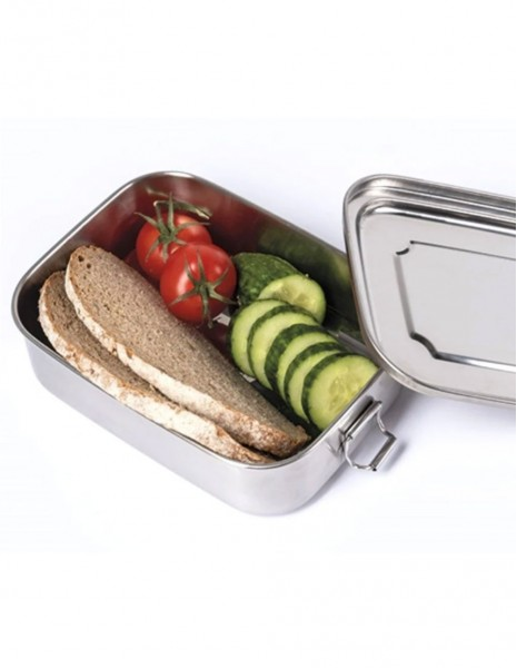 Miltec Lunchbox Container Stainless Steel 1200ml 14674200