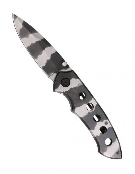 Miltec 15304000 Folding Pocket Knife Urban Camo SS