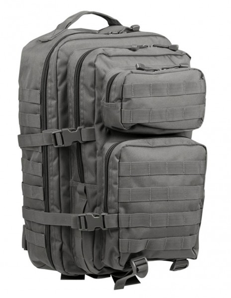 Miltec 14002208 Outdoor Camping Hiking Backpack Assault 36l Urban Gray