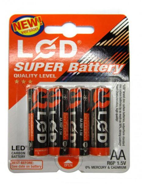 LED AA Blister HQ Baterija 4 komada