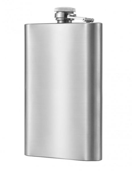 Hip Flask Slim Stainless Steel 200ml / 7oz