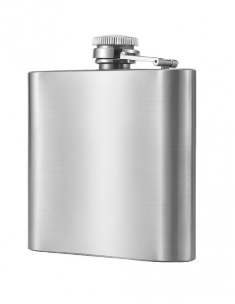Hip Flask Stainless Steel 177ml / 6oz