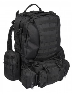 Defense Pack Modularni Vojni Planinarski Molle Ruksak 45L Black