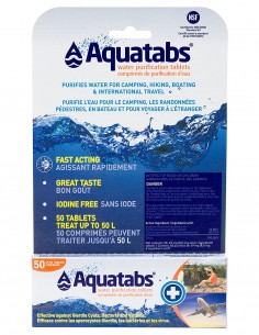 BCB CR216S AquaTabs Water Purification Tablets Pack 50 kom