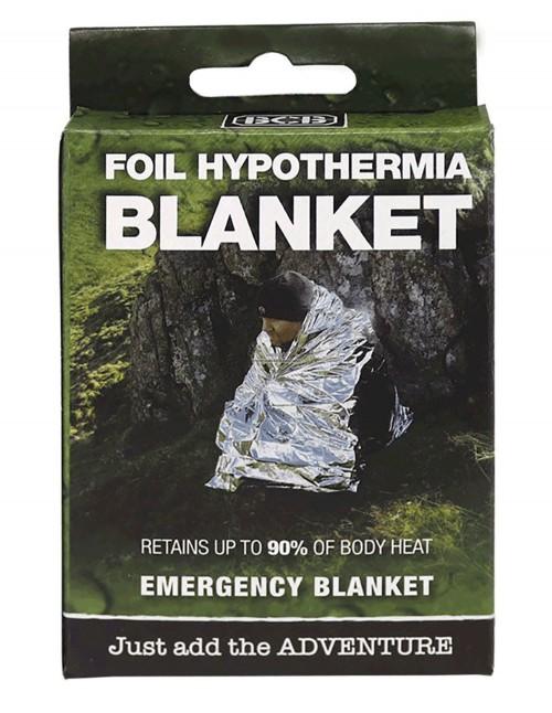 BCB CL041 Reflective Survival Hipotermia Blanket Silver