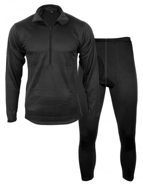 Miltec 11222002  Tessar ECWCS Undergarments Gen-III Black
