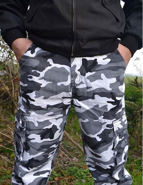 Loshan Camouflage Pants Vintage Urban Camo