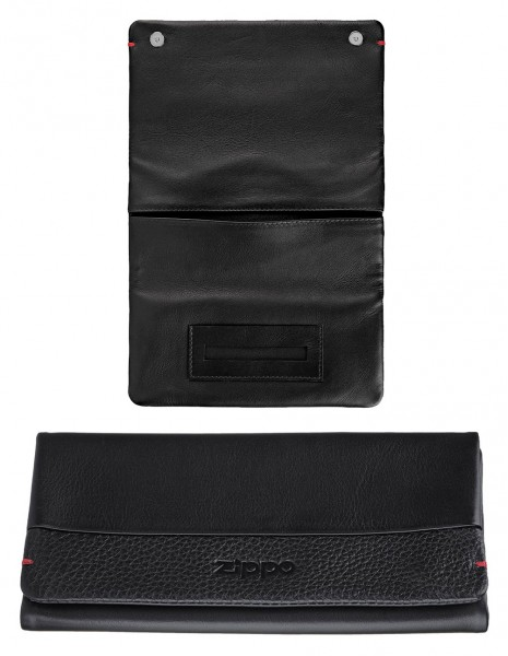 2006059  Original Zippo Tobacco Pouch Nappa Leather Black