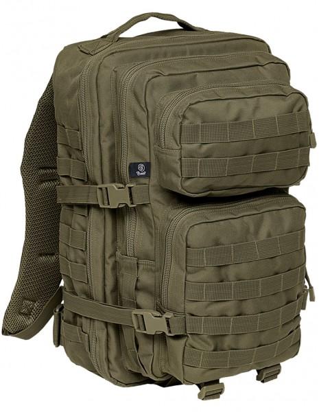 Brandit 8008 Camping Hiking Army Molle Backpack US Cooper Large 40 Liter Olive