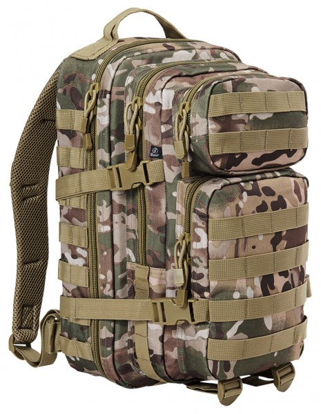 Brandit 8008 Camping Hiking Army Molle Backpack US Cooper Large 40 Liter Tactical Camo