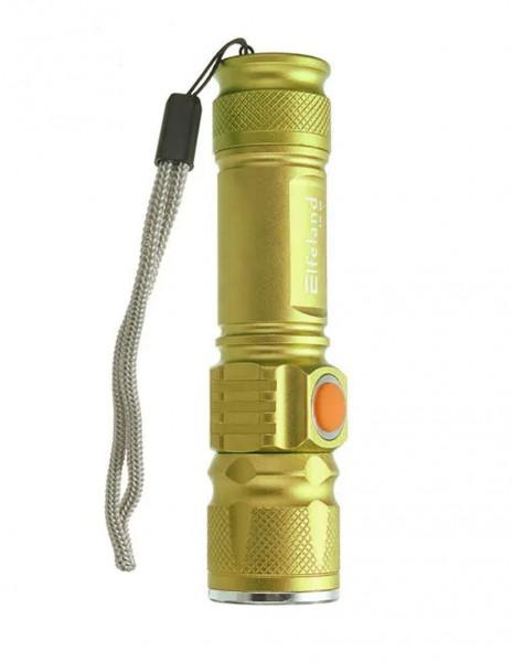 Baterijska Lampa FA-515 USB Gold