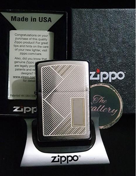 Zippo 49209 Original Zippo Lighter Two Tone Laser Engraved