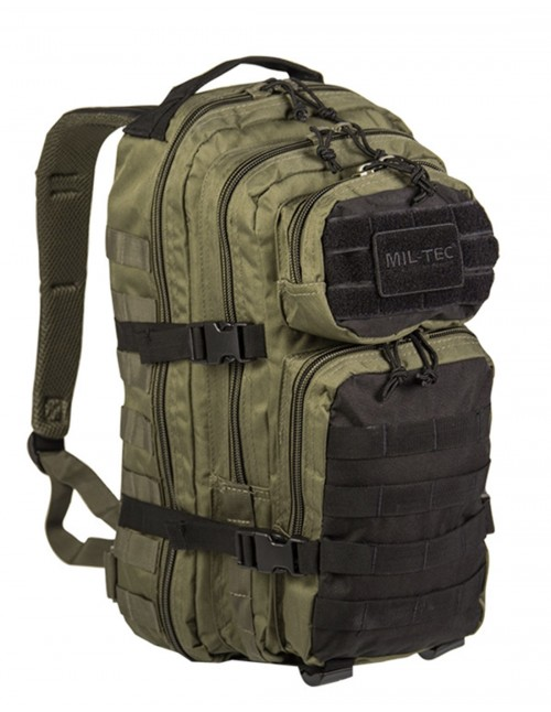 Outdoor Camping Hiking Army Backpack Assault 25L Olive/Black