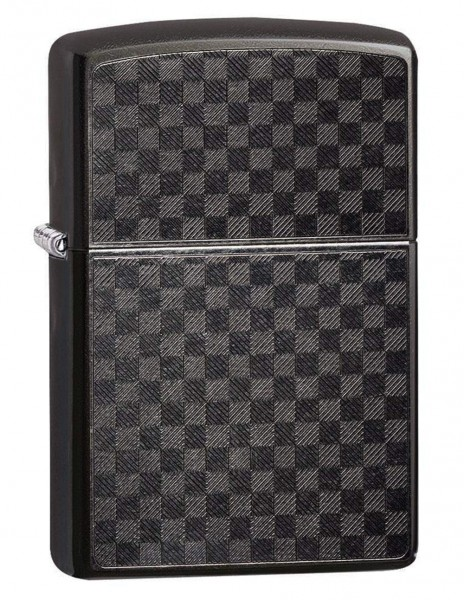 Zippo 29823 Original Zippo Lighter Grey Dusk Iced Carbon Fiber Design