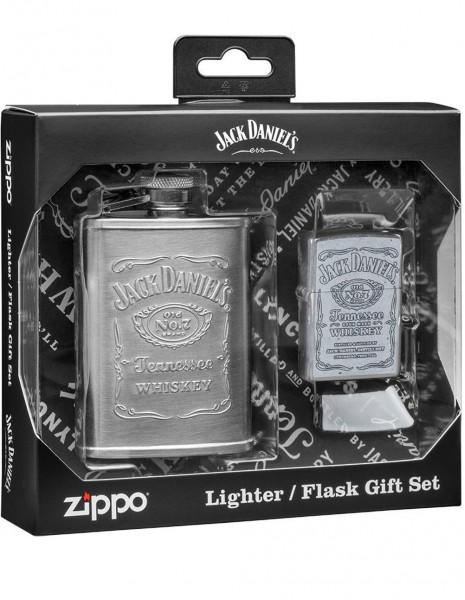 Zippo 49349 Zippo Gift Set Jack Daniel's® Flask & Lighter