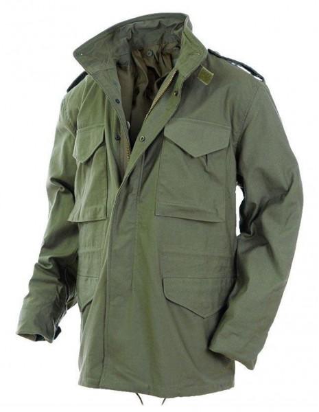 Teesar 10311001 Original M65 Hunting Military Jacket NyCo Olive Sale Discount