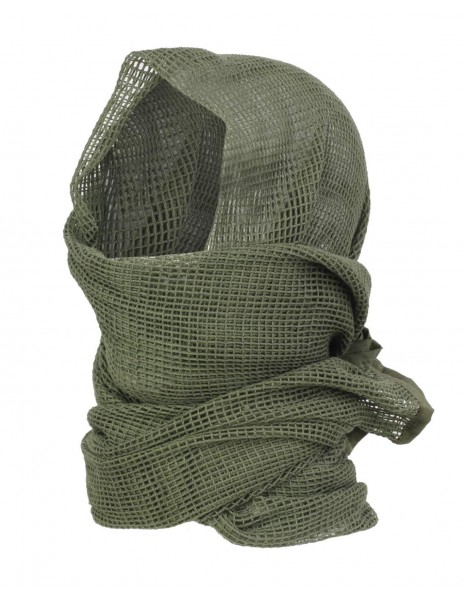 Miltec 12625001 Camouflage Net Scarf Olive