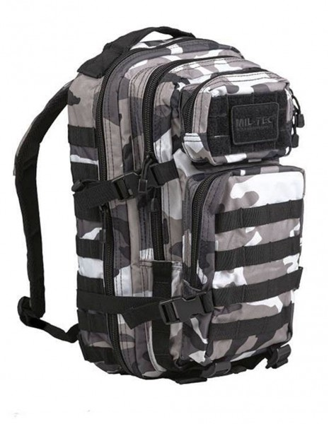 Miltec 14002022 Outdoor Camping Hiking Army Backpack 25L Urban Camo