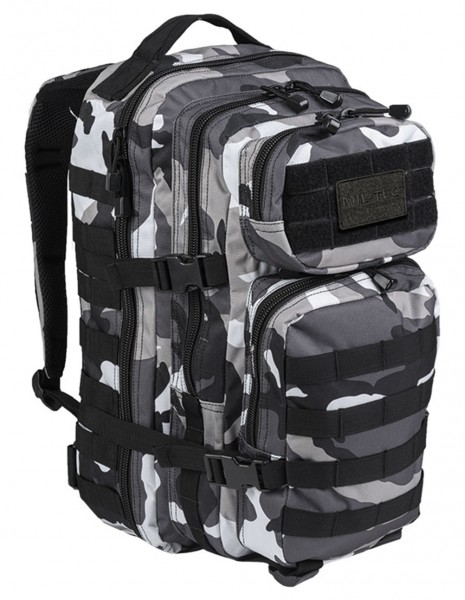 Miltec 14002222 Outdoor Camping Hiking Backpack Assault 36l Urban Camo