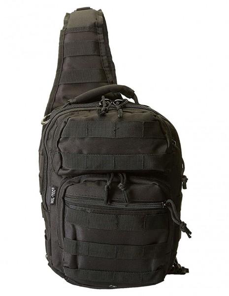 Miltec 14059102 City Urban Army Rucksack Bag One Strap Assault Black