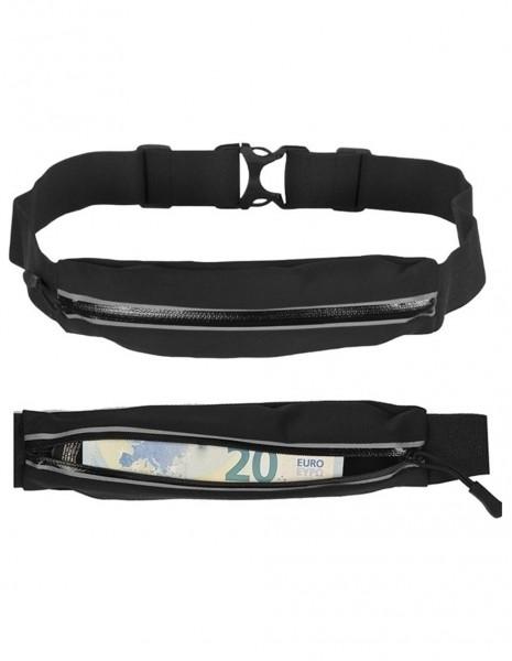 Miltec 15860202  Money Belt / Running Small Hip Bag Black