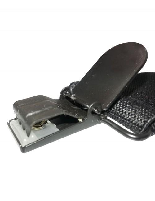 Miltec Široki Lovački Muški Tregeri Za Hlače 3cm Black 13184002