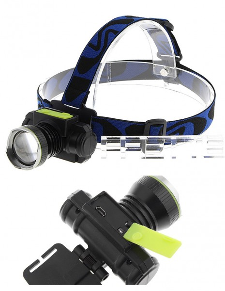 Rechargeable Headlight 8802 USB CREE XML LED-T6