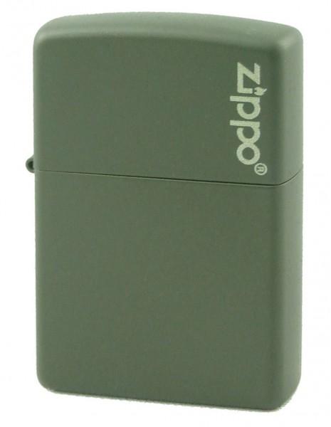 Zippo 221ZL Original Zippo Lighter Green Matte Zippo Logo