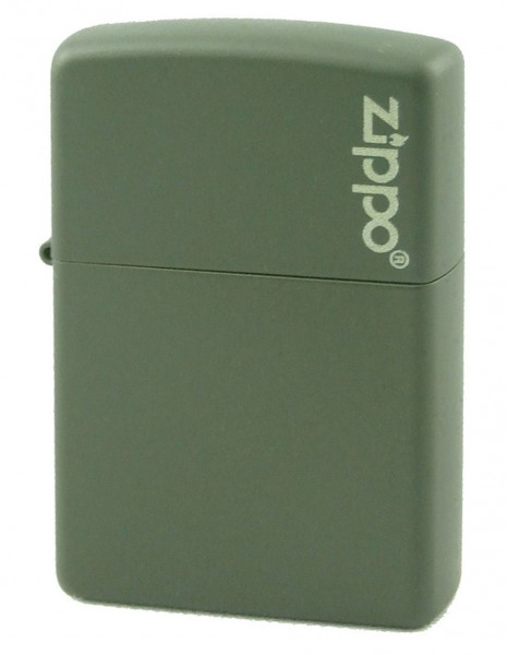 Zippo 221ZL Original Zippo Upaljač Green Matte Zippo Logo