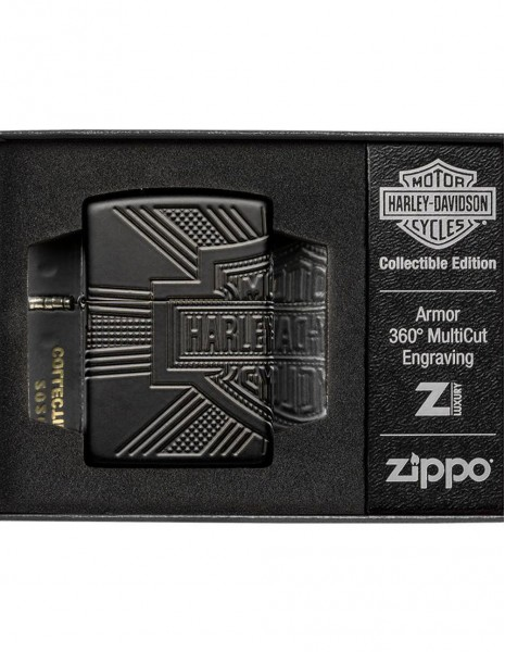 Zippo 49176 Zippo Lighter Harley-Davidson® 2020 Collectible