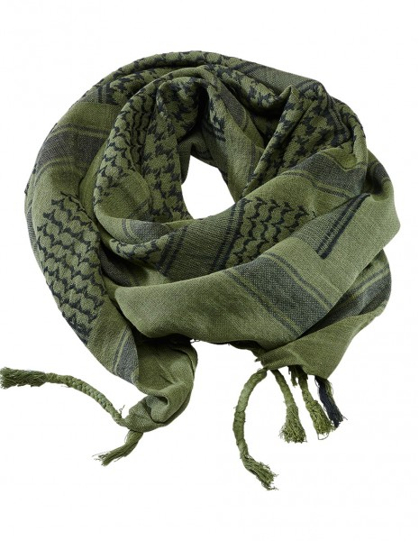 Brandit 7009-190 Classic Shemagh Scarf Olive Black
