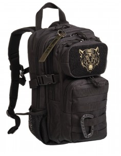 Outdoor Camping Hiking Army Kids Backpack Assault 15L Black