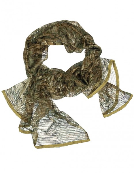 Miltec 12625049 Camouflage Net Scarf Multicam