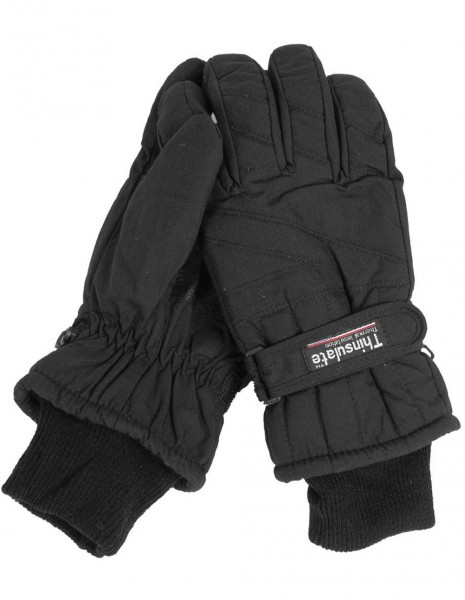Miltec 12530002 Winter Hunting Army Waterproof Gloves Thinsulate Black