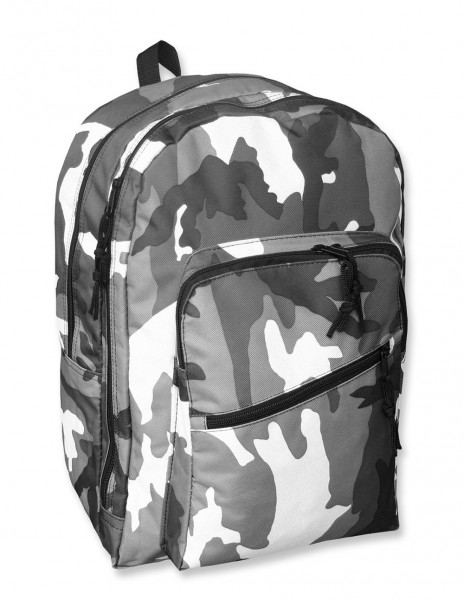 School Camouflage Backpack Day Pack Urban Camo 14003022