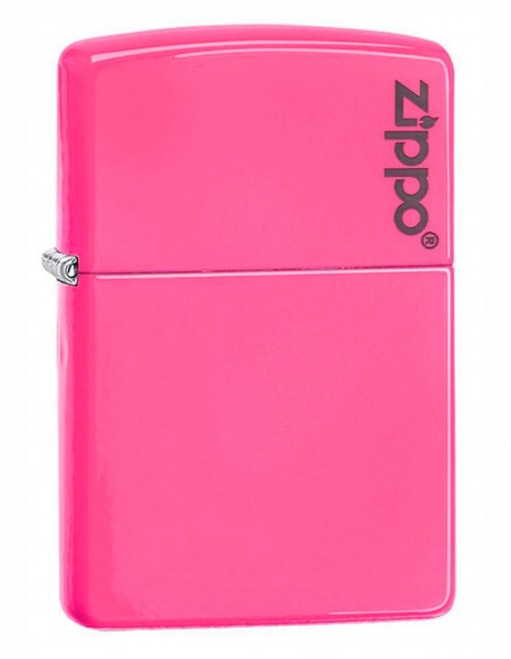 Zippo 28886ZL Original Zippo Upaljač Neon Pink Zippo Logo