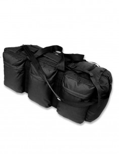 Miltec US Combat Duffle Bag 98L Black 13846002