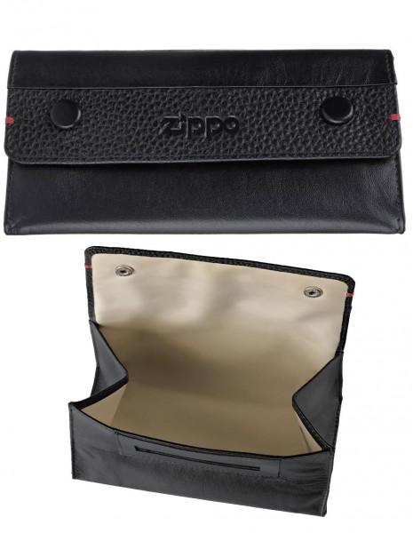 2006060  Original Zippo Tobacco Pouch Nappa Leather Black