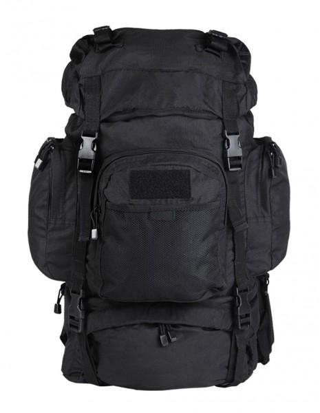 Miltec 14027002 Vojnički Planinarski Lovački Ruksak Commando 55 Litara Black