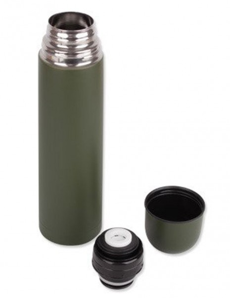 Miltec 14531900 Thermo Bottle 0,5 Liter Steel Olive