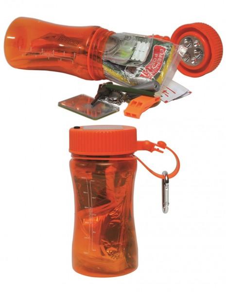 Miltec 16027300 Orange Outdoor Survival Komplet Box